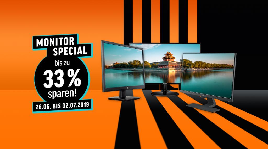 Spart bis zu 33% bei unserem Monitor-Special