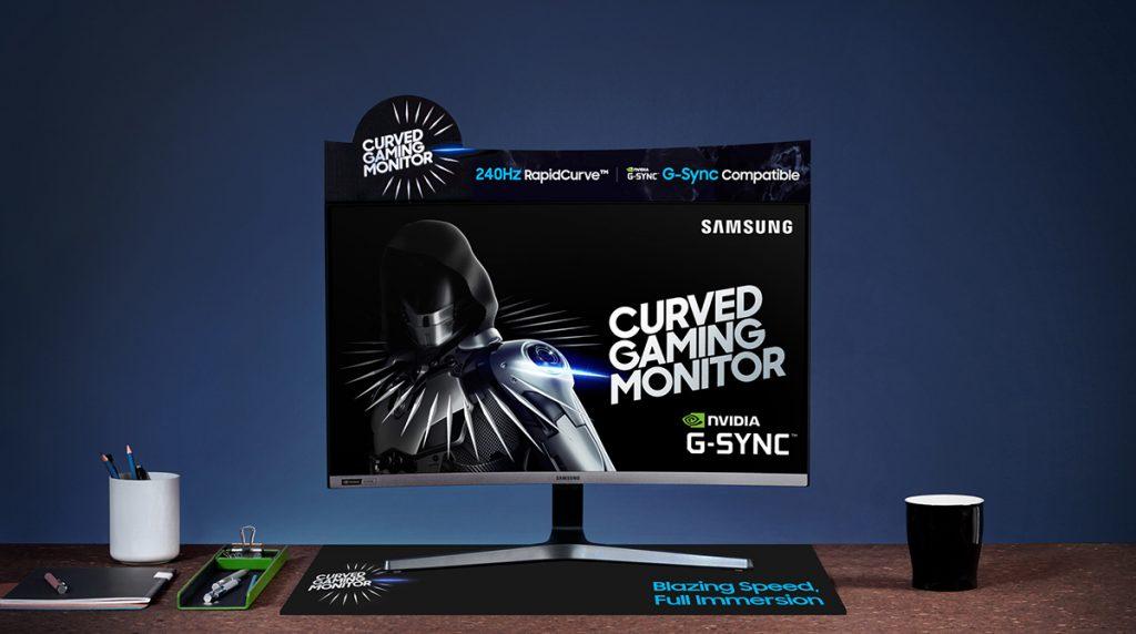 Samsung stellt 27-Zoll-Monitor LC27RG5 mit 240 Hz und G-Sync vor