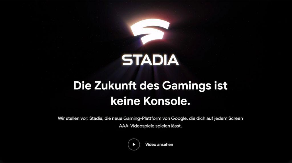 Livestream: Google Stadia Starttermin, Games und Preise