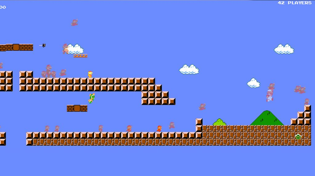 Battle Royale: Super Mario Bros. gegen 74 Spieler