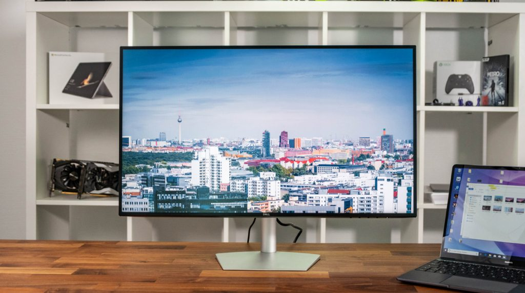 Schicker & flacher Monitor mit hellem Display: Dell S2719DC mit USB-C