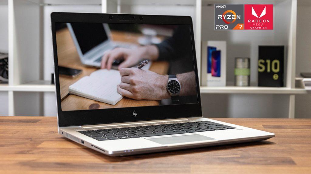 Robust, leicht, stark: HP Elitebook 735 G5 mit AMD Ryzen 7 Pro 2700U-CPU