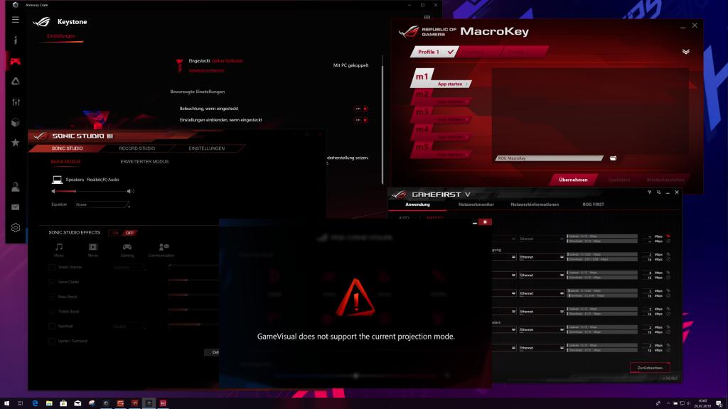 ASUS ROG Scar Strix III Software Overdose
