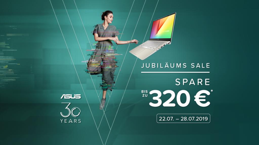 Bis zu 320 Euro beim ASUS Jubiläums-Sale sparen