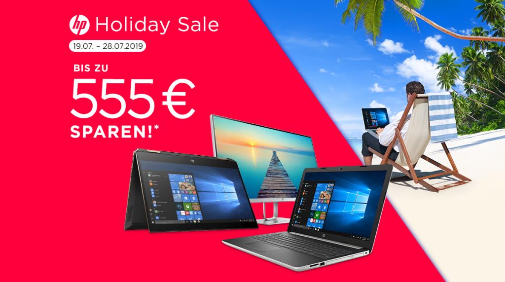Bis zu 555 Euro Rabatt beim HP Holiday Sale