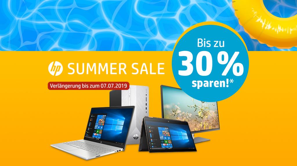 HP Summer Sale: Sommerliche Deals bei bis zu 30% Rabatt!