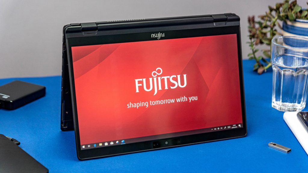 Fujitsu Lifebook tent