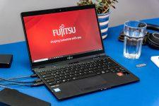 Fujitsu Lifebook open angle