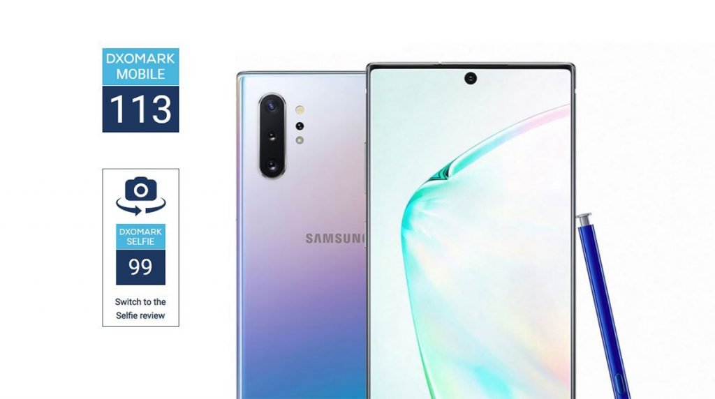 [DxO Mark] Galaxy Note 10 Plus 5G: der neue Kamera-König