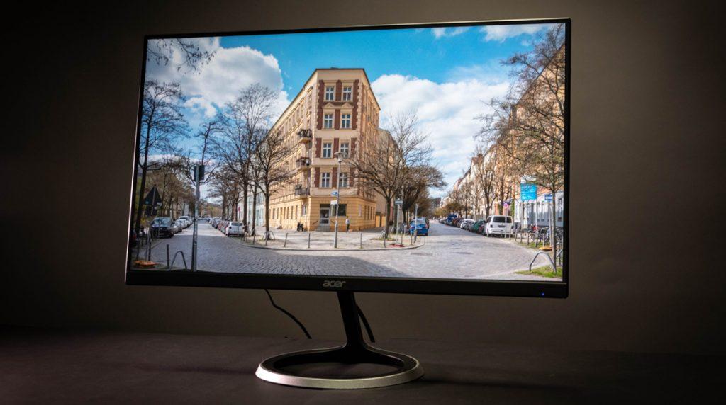 ACER ED246Ybix: Schlanker und günstiger Office-Monitor