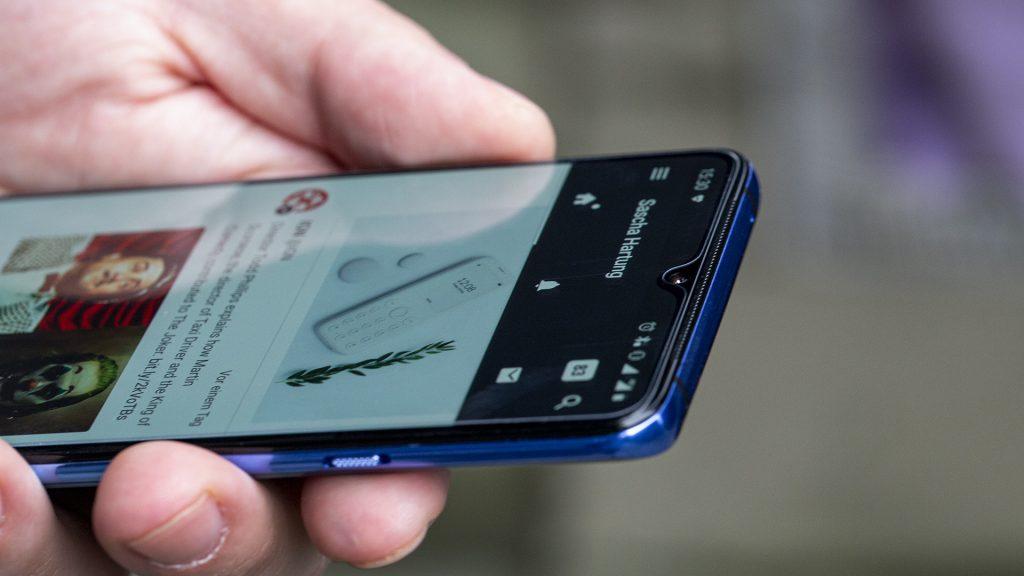 OnePlus 7T Lautsprecher
