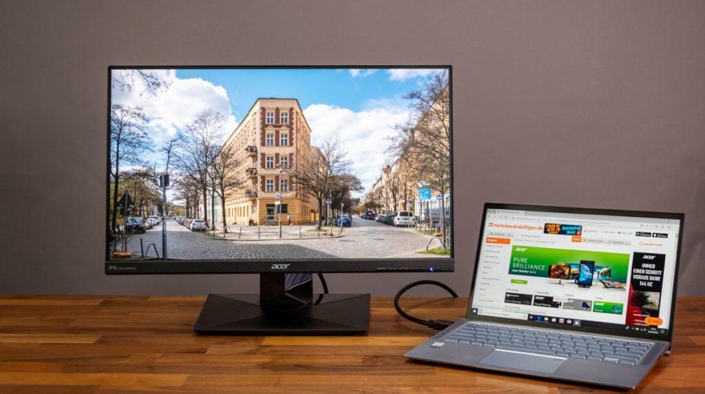 Acer CB241HYbmdpr im Test: Günstiger und guter Office-Monitor