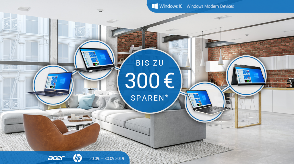Microsoft Modern Devices: Spare bis zu 300 Euro