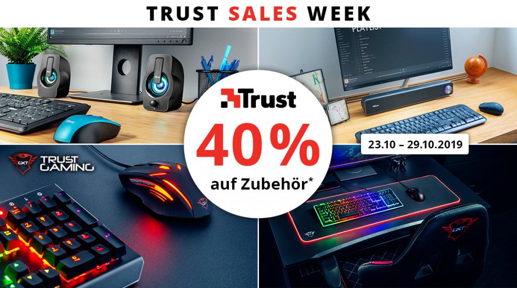 Trust Sales Week: Spare 40% bei Zubehör