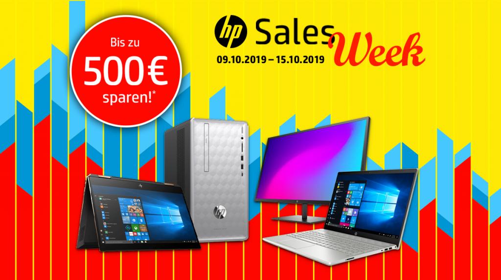 Spare bis zu 500 Euro bei der HP Sales Week