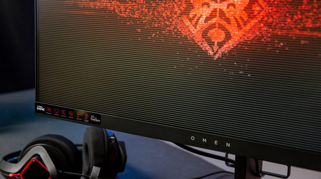 HP OMEN X 25f im Test: schnell, schneller, fast G-Sync