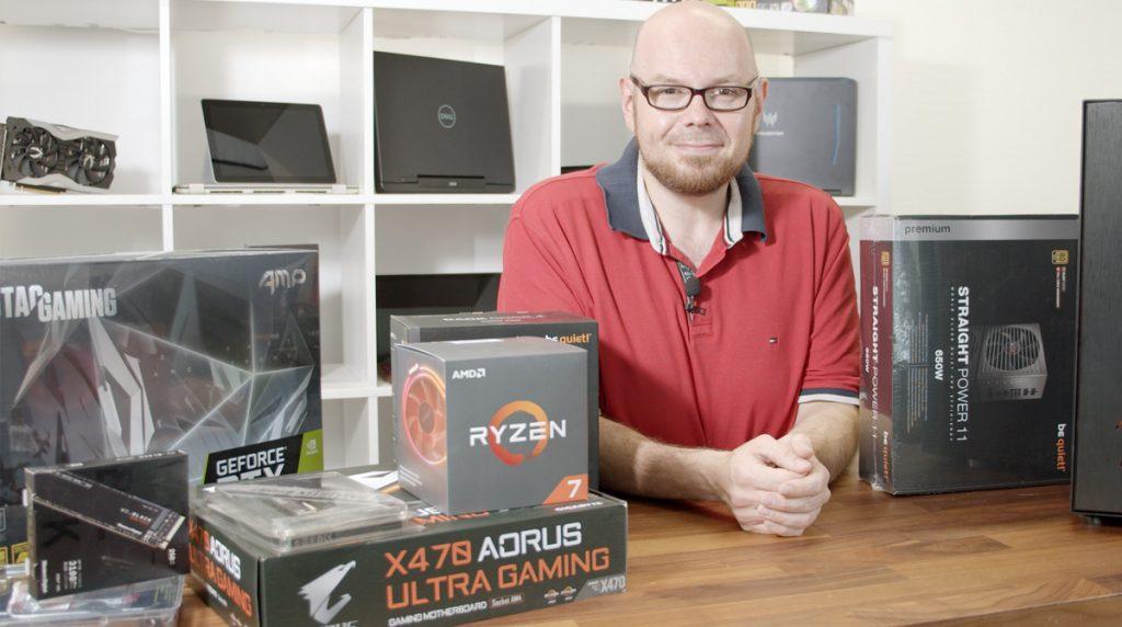 Der NBB Redaktions-PC: AMD Ryzen 7 mit RTX 2080