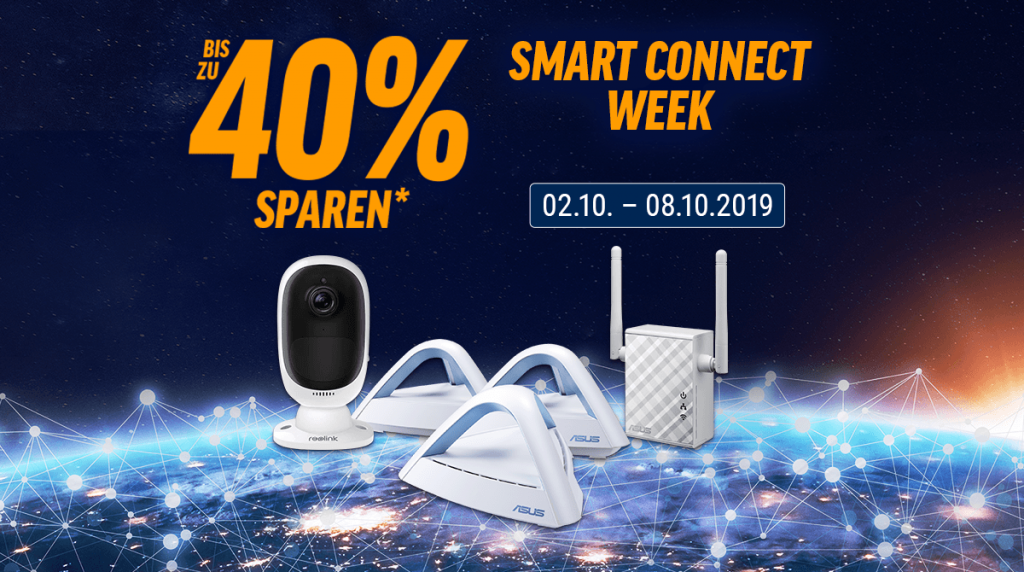 Spare bis zu 40% bei der Smart Connect Week