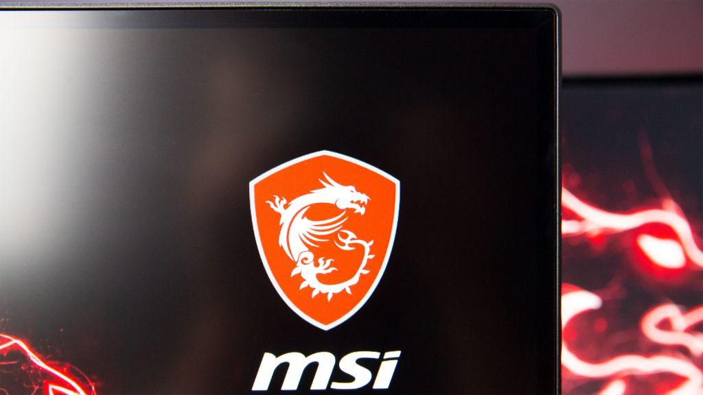 MSI MAG 272 QP Auflösung MSI Logo