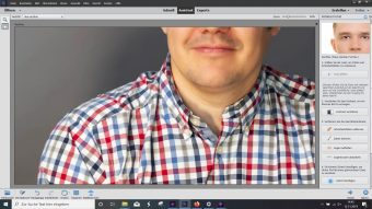 Adobe Photoshop Elements 2020 ; Perfektes Portrait nachher