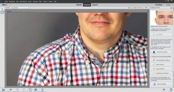 Adobe Photoshop Elements 2020 ; Perfektes Portrait nachher