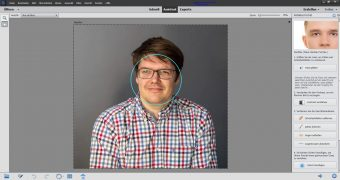 Adobe Photoshop Elements 2020 ; Perfektes Portrait vorher