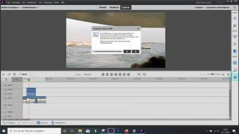 Adobe Premiere Elements 2020 Assistent Animation
