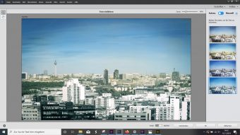 Adobe Photoshop Elements 2020 ; Schwarzweißbild koloriert