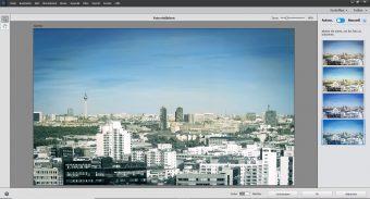Adobe Photoshop Elements 2020 ; Schwarzweißbild koloriert