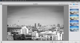 Adobe Photoshop Elements 2020 ; Schwarzweißbild