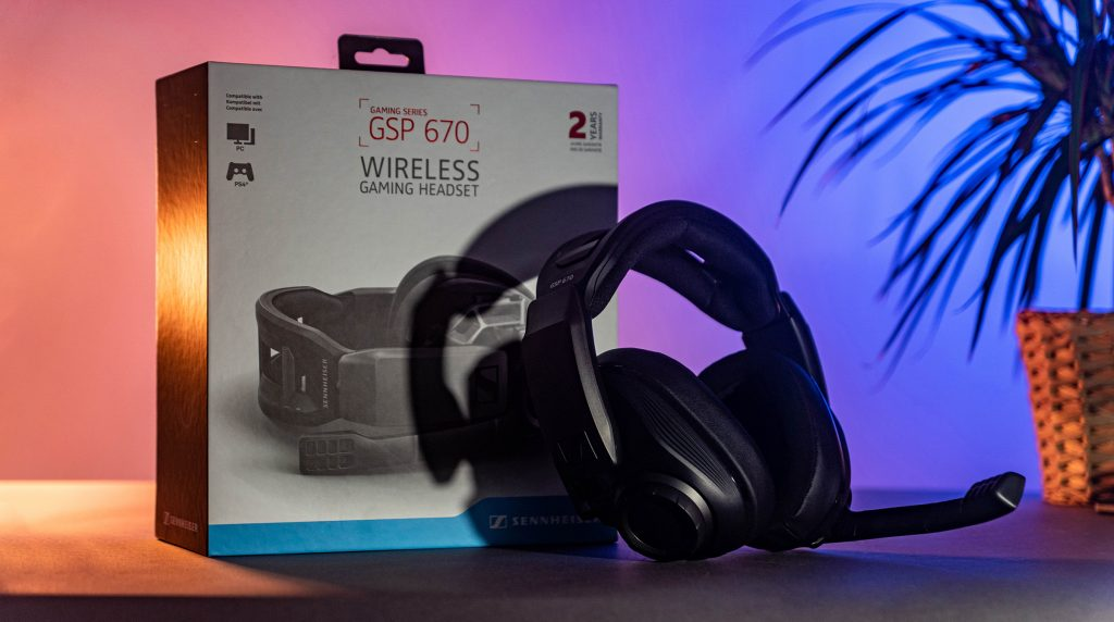 GSP 670: Kabelloses Gaming-Headset von Sennheiser für 330 Euro* im Test