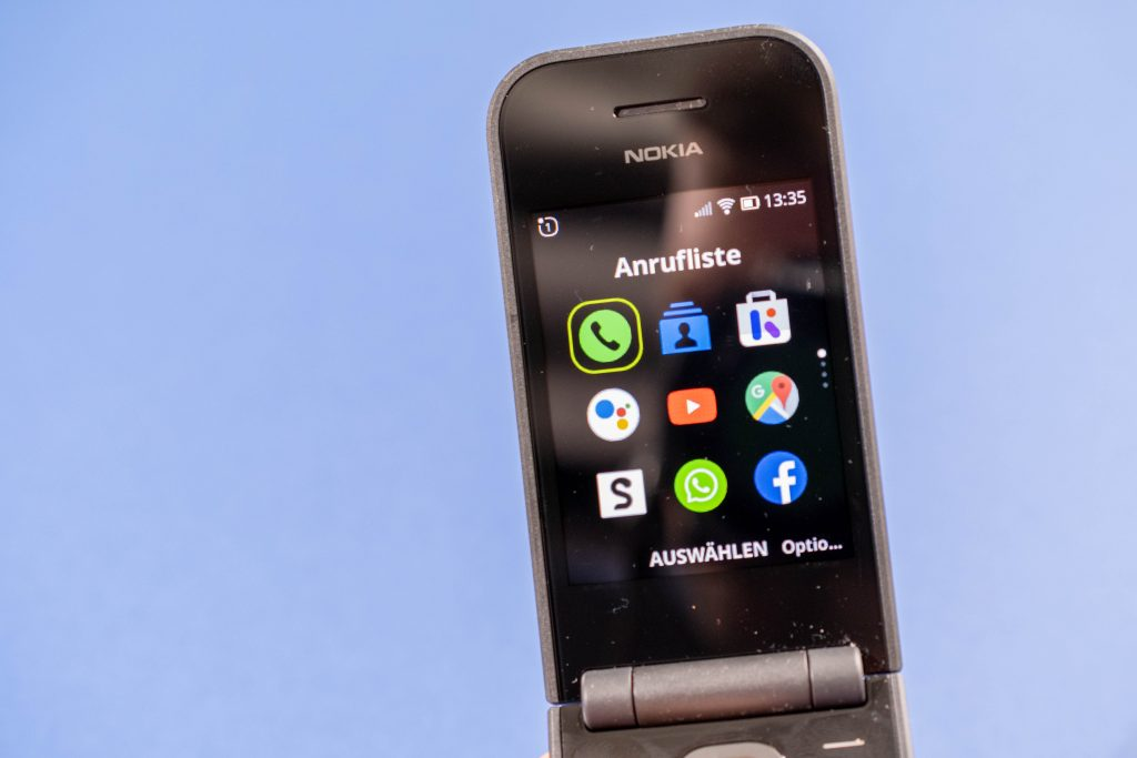 Nokia 2720 Flip Test