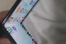 Samsung Galaxy Fold 2 aufgeklappt