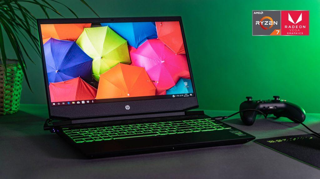 HP Pavilion 15 im Test: Einsteiger-Gaming-Notebook mit Ryzen-CPU, GTX 1660 Ti Max-Q und 1 TB SSD