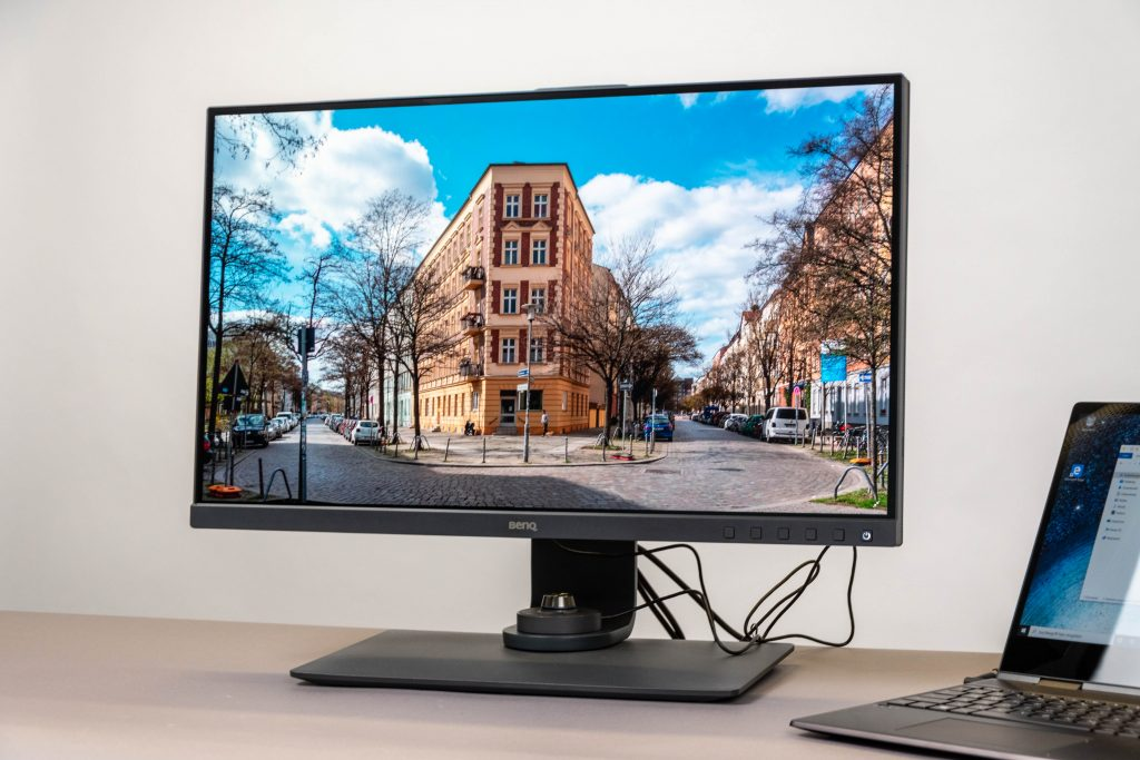 benq sw270c monitor test