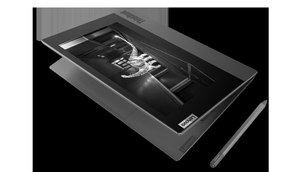 CES 2020: Lenovo ThinkBook Plus mit e-Ink-Cover vorgestellt