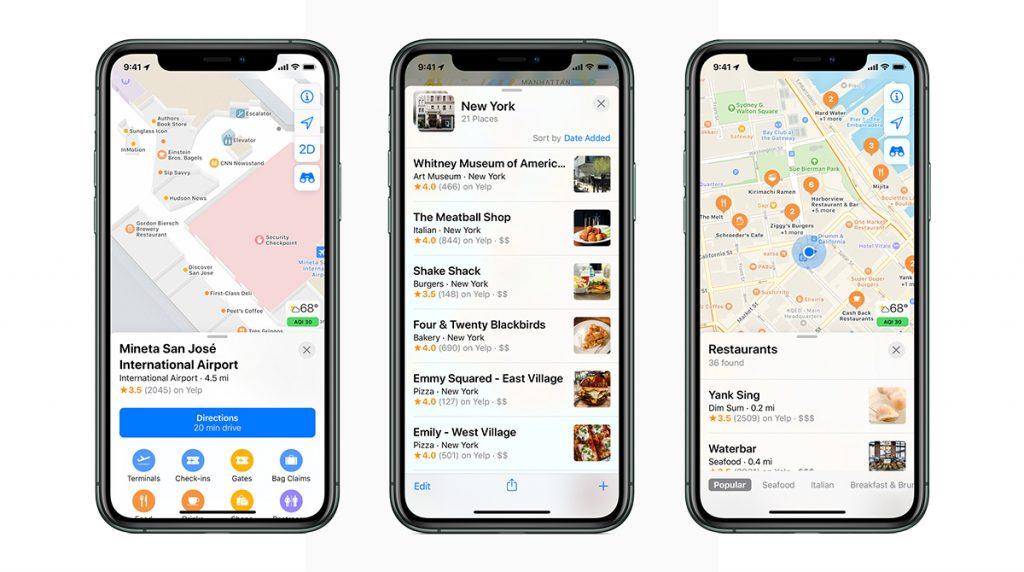 Apple: Neue Karten-App in den USA und bald auch in Europa