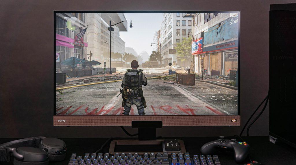 BenQ EX2780Q im Test: 27″-Allround-Monitor setzt auf 144 Hz, HDR, guten Sound und hohe Farbtreue
