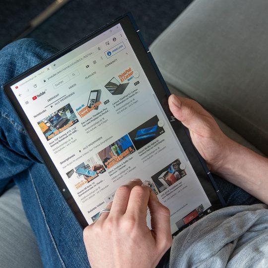 HP Elite Dragonfly drinnen Tablet