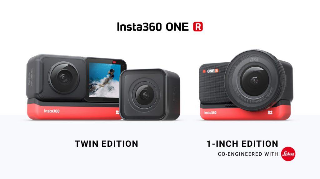 Insta360 ONE R ist Actioncam mit drei wechselbaren Objektiven