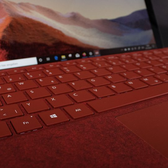 Microsoft Surface Pro 7 Tastatur