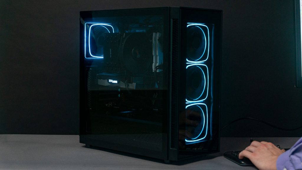 Sharkoon TG 6 RGB Blau