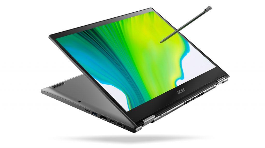 CES 2020: Acer präsentiert neue Convertibles der Spin 3- und 5-Serie