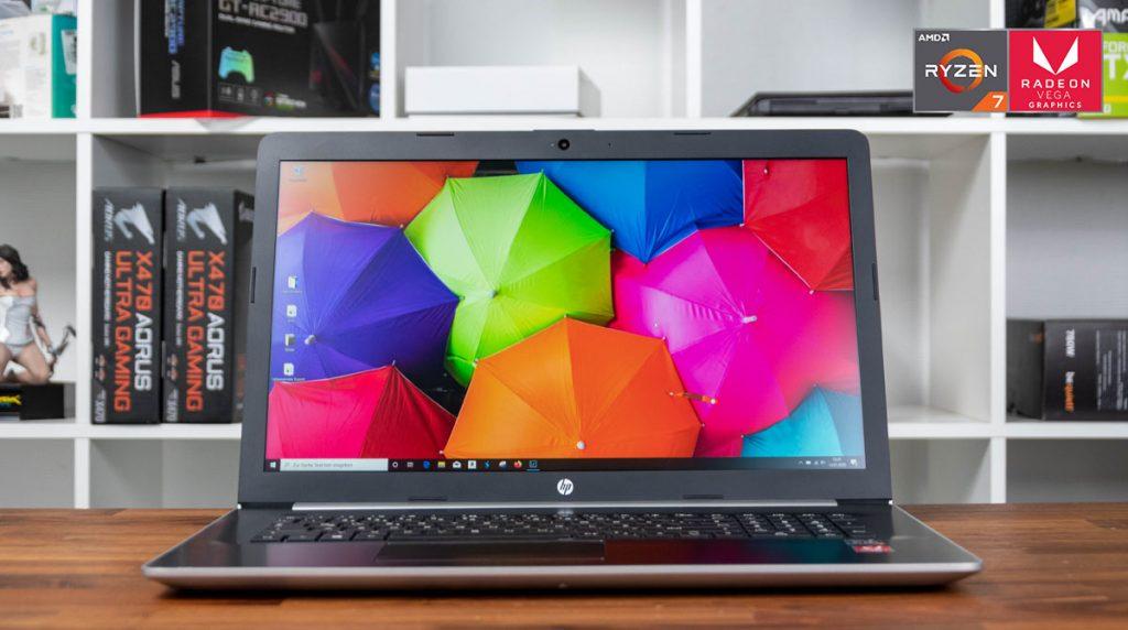 HP 17-ca1176ng im Test: Großes und leises Multimedia-Notebook mit AMD Ryzen 7-CPU