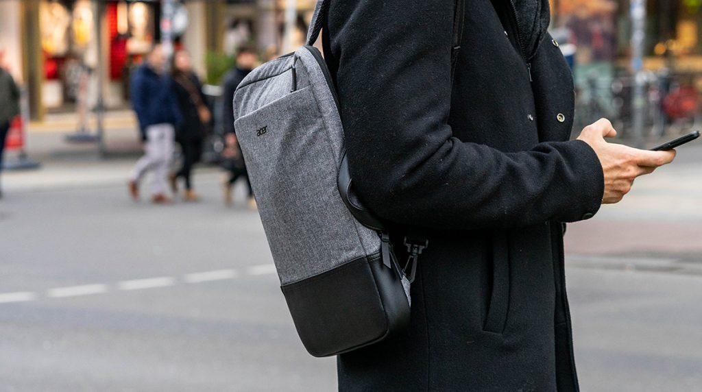 Acer 14″ 3in1 Rucksack: flach und organisiert