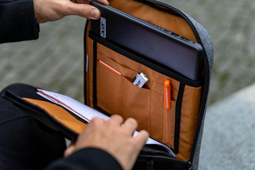 Acer 14 Zoll 3in1 Rucksack Aufteilung II