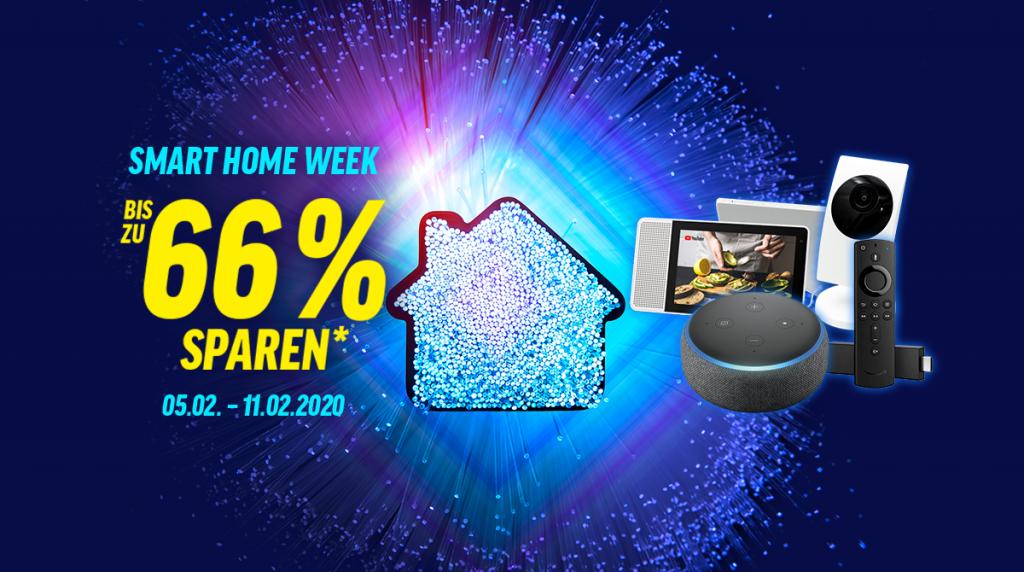 Spare bis zu 66% bei unserer Smart Home Week