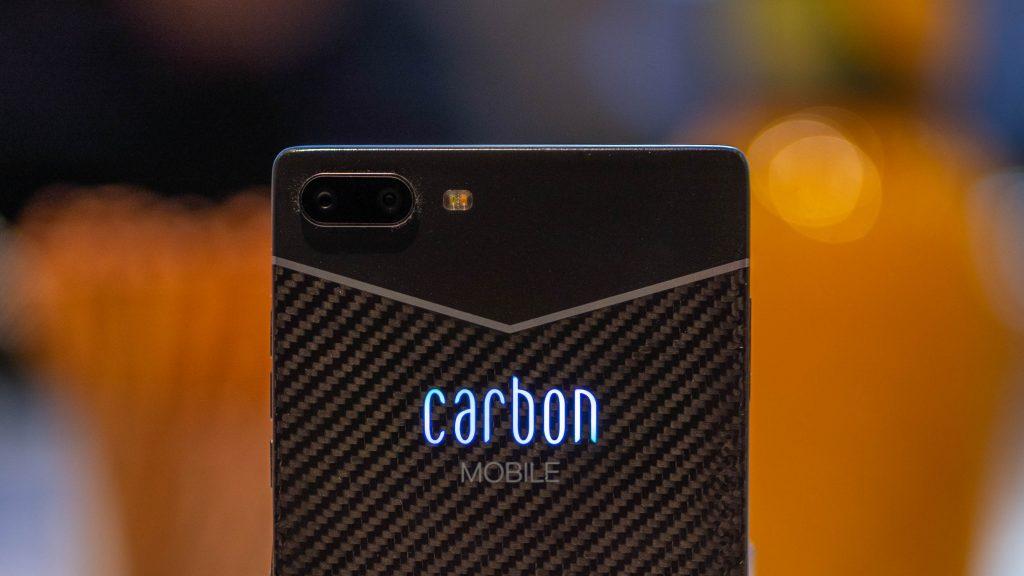 Carbon 1 MK2: Extrem leichtes Smartphone aus Karbon vorgestellt