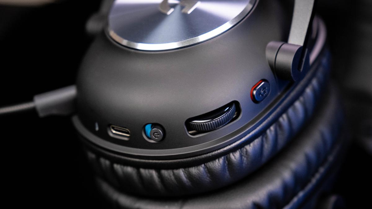 Logitech Pro X Wireless Gaming-Headset Bedienung