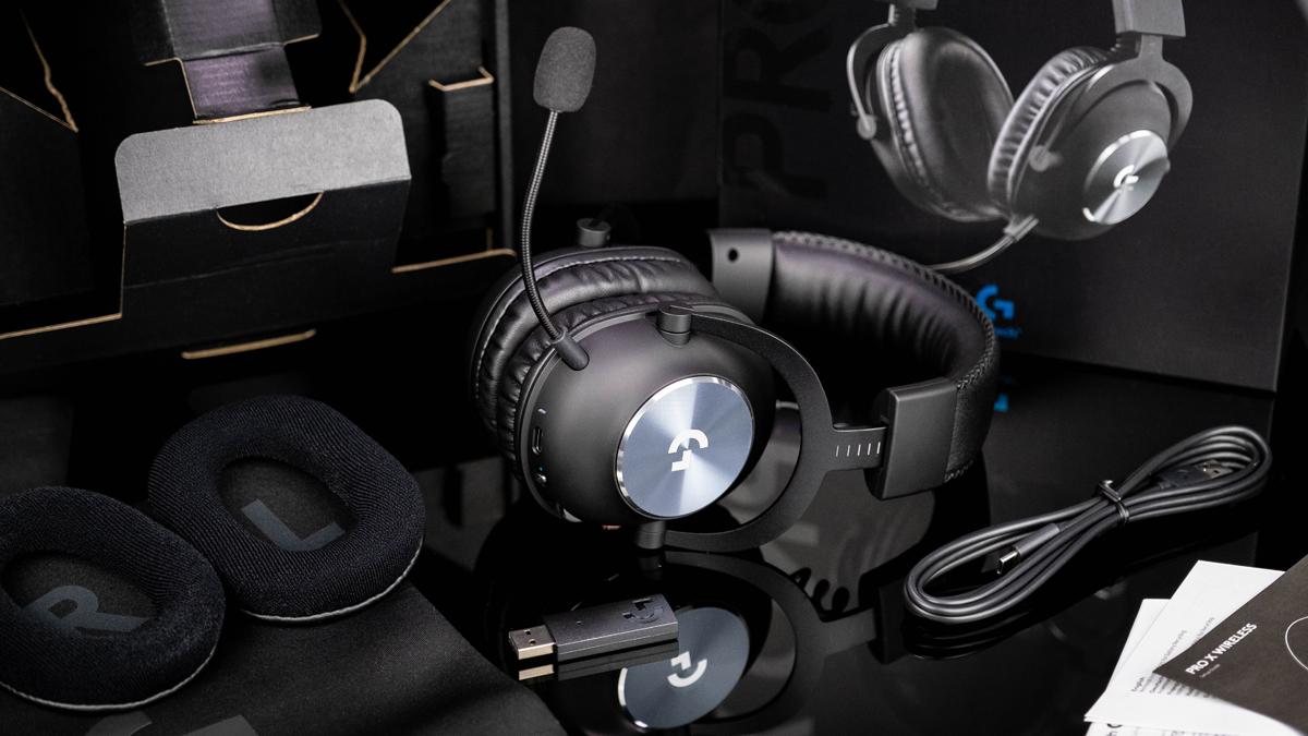 Logitech Pro X Wireless Gaming-Headset Lieferumfang